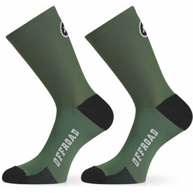 assos XC Socks mugo green